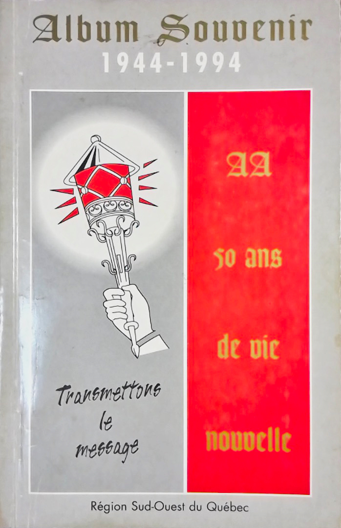1994 - Album Souvenir 50 ans AA au Québec