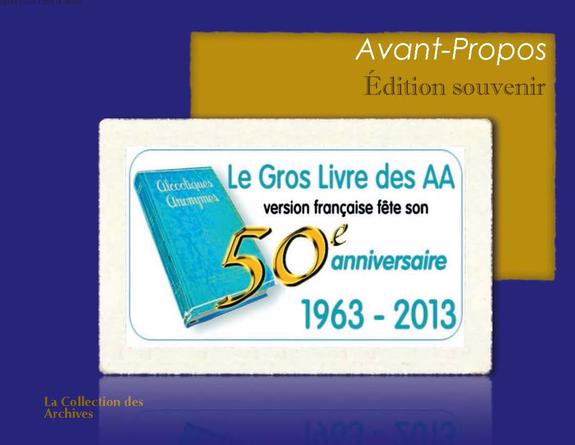 2013 - 50 ans du Gros livre en français